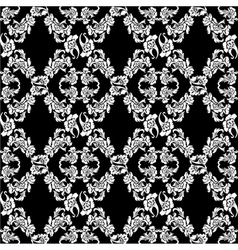 seamless background flowers floral pattern vector image vector image