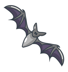 bat icon cartoon style vector image