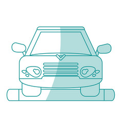 Car shadow vector