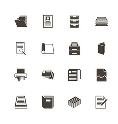 Document - flat icons vector