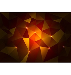 Red Triangles Dark vector image