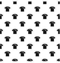 Shirt pattern seamless vector