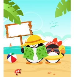 Summer Message vector image