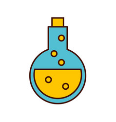 tube test with potion vector image