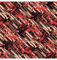 urban dynamic ornament vector image