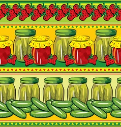 conservation seamless vector image vector image