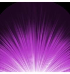 Star burst porple and white flare EPS 8 vector image vector image