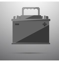 12v car battery vector image vector image