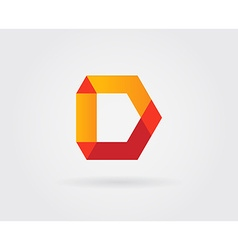 Logo Letter Icon Design Template Elements in vector image