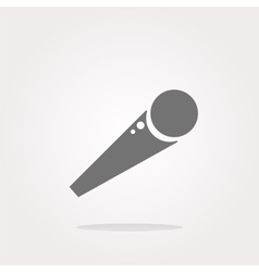Microphone Icon microphone icon flat microphone vector image vector image