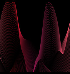 abstract background with liquid lines applicable vector image