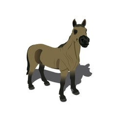Beautiful horse vector