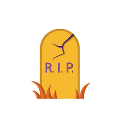 Grave icon flat design vector