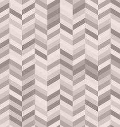 zig zag abstract background in shades warm gray vector image