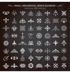 Small Design Elements vector image vector image