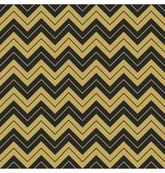 Zigzag hipster seamless sharp corner pattern vector image vector image