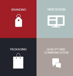 Brand Tactics vector image