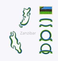 Colors of Zanzibar vector image