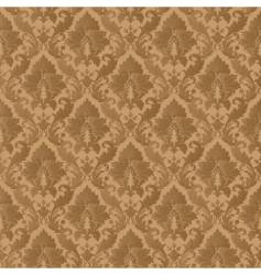 damask patern vector image