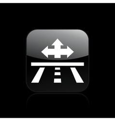 Direction icon vector