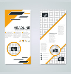 modern roll-up business banners template vector image