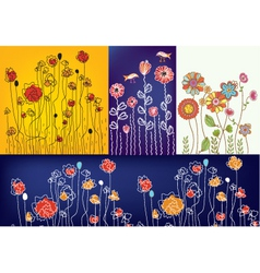 spring graphics vector image