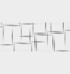 White paper geometric texture vector