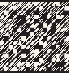 abstract texture diagonal black and white pattern vector image vector image