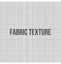 Fabric Canvas Texture for Your Design vector image