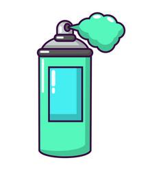 spray paint icon cartoon style vector image