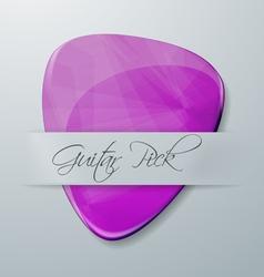 Guitar Pick vector image