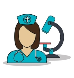 Doctor avatar isolated icon vector