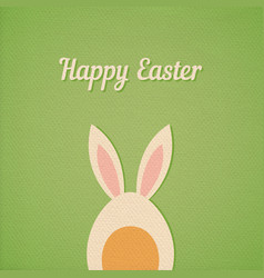 easter egg with ears vector image
