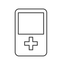 Game gadget device design vector