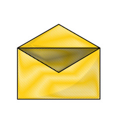 open envelope icon vector image