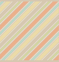 Pastel baby color fun striped seamless background vector