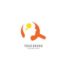 searching people logo vector image