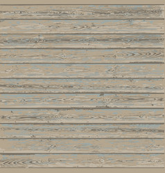 Vintage wood texture background old wooden planks vector