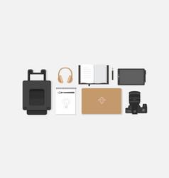 Workplace designer vector