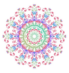 mandala abstract design vector image