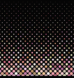 pink abstract geometrical dot pattern background vector image