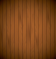 Wooden laqured background top view sample text vector