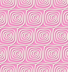Circles and swirls vintage seamless pattern vector image vector image