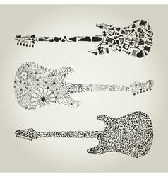 Guitar8 vector image