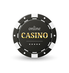 online casino banner vector image
