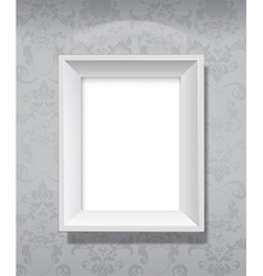 picture frame hanging vector image vector image