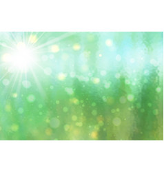 abstract of backlight reflector and glitter vector image