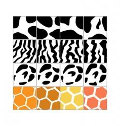 animal skin vector image
