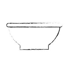 Bowl dishware icon image vector