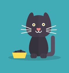 Cat food vector